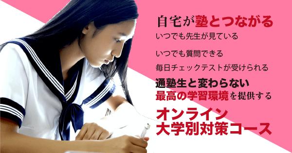 オンライン大学別対策コース